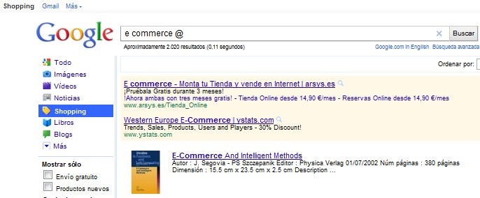 Google-Ecommerce