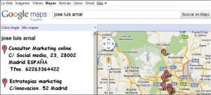 Poner empresa Google Maps