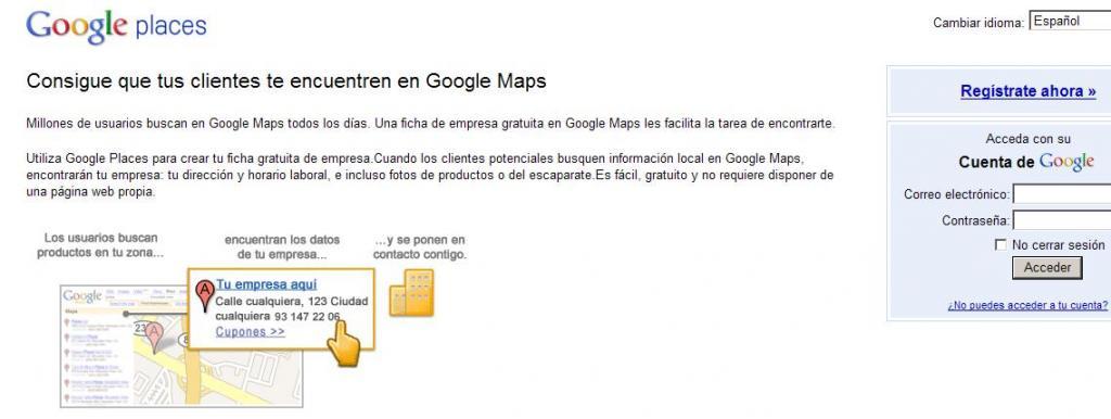 Google Maps Empresa