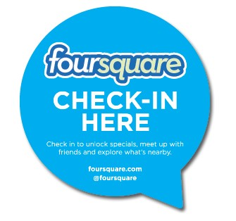 Check-in foursquare