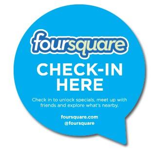Check-in foursquare
