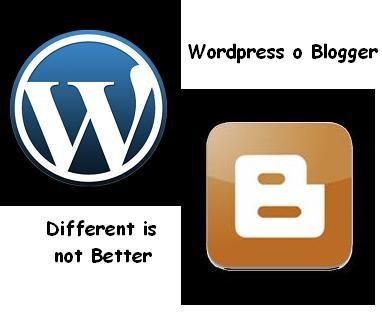 Logos wordpres y Blogger
