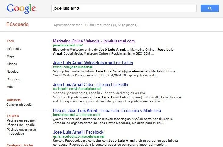 Jose Luis Arnal buscadores