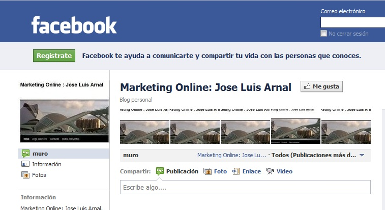 Jose Luis Arnal Marketing Online