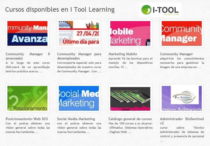 itool cursos community manager