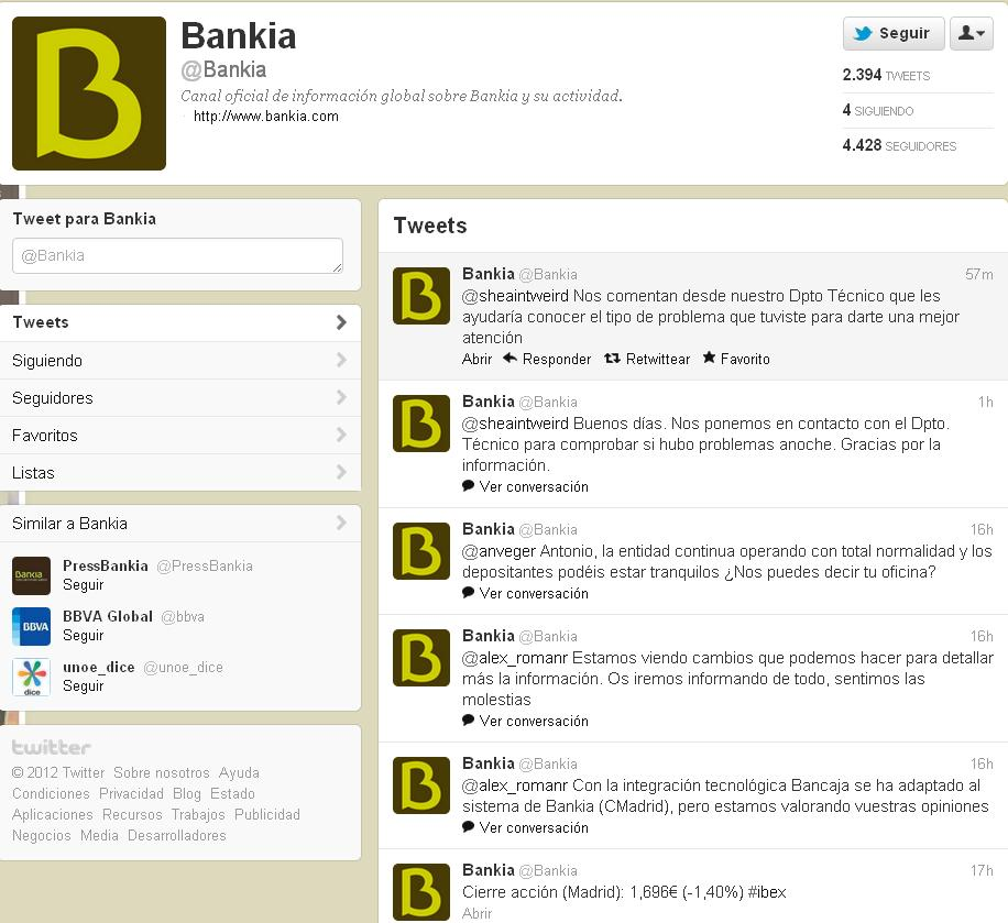 reputacion online bankia