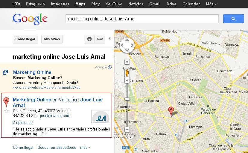 Marketing Online en Valencia
