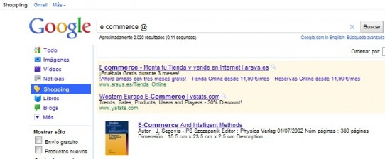Datos sobre el E-commerce
