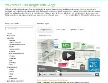 ¿Qué es Google Think Insights?