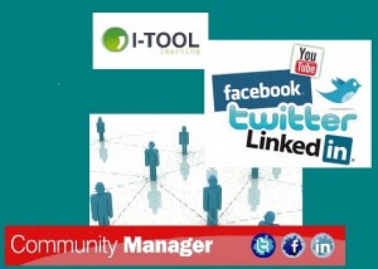 I-Tool learning realiza curso Community Manager a desempleados por 1€