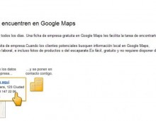 ¿Cómo poner una empresa en Google Maps?